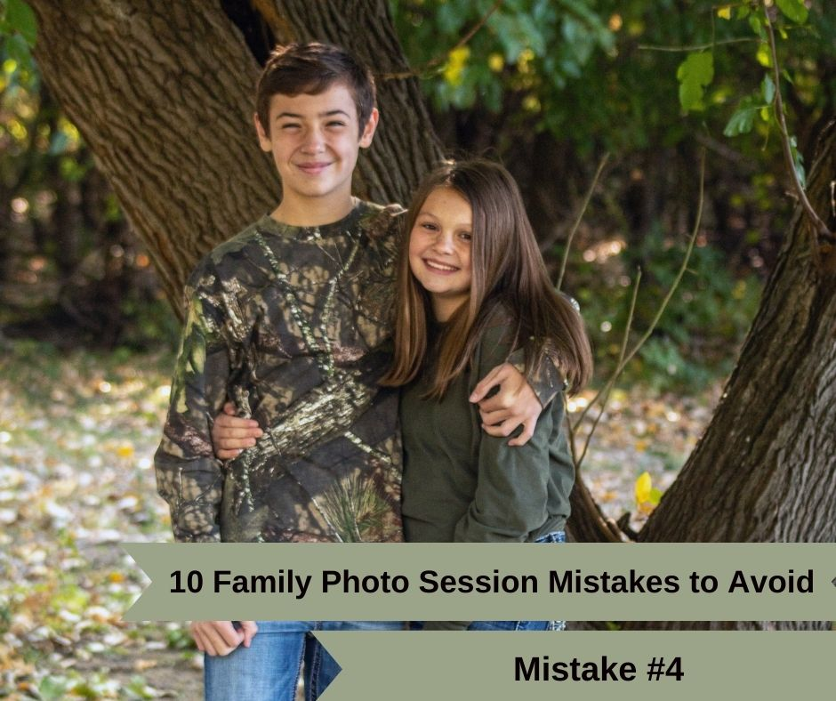 Mistake #4. Don't Just Get These during your family photo session