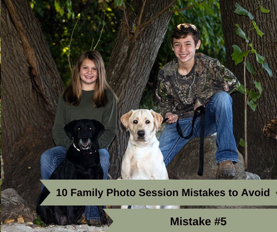 Mistake #5. Forgetting to get smaller group shots during your family photo session